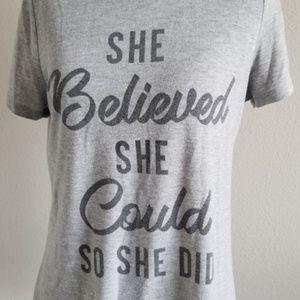 Women's Inspirational Quote Shirt